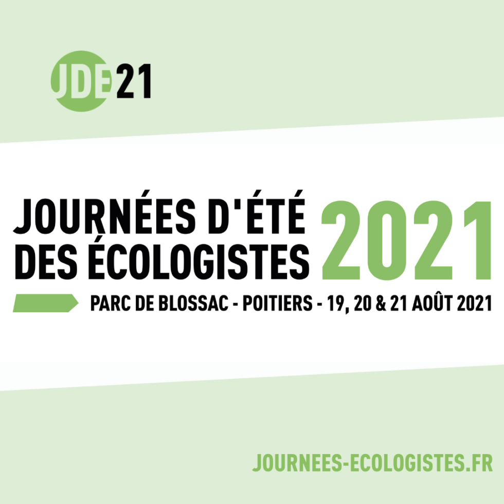 Journées d'été des écoligistes 2021 à Poitiers