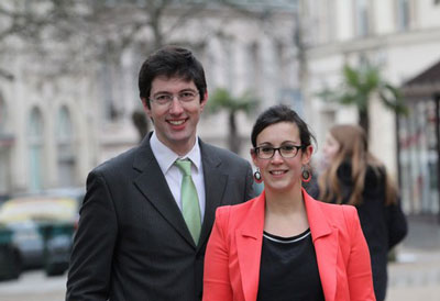 candidat EELV et candidate FDG canton Rambouillet élections départementales Yvelines 2015