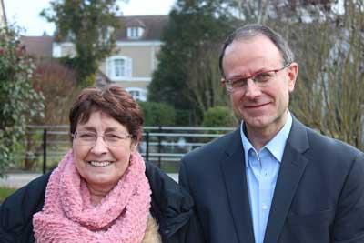 photos candidats titulaires EELV cantons de Verneuil pour les élections départmentales 2015 Yvelines