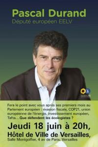 Pascal Durand le 18 juin 2015 à Versailles